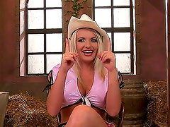 Forget about everything else examining what Brittany Spring is doing in this scene. The