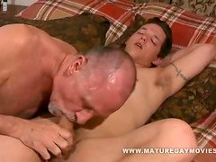 Young Guy Fucks Some Old Ass