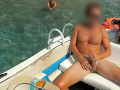 Exotic fuck on a boat