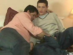 Twink tops his older lover
