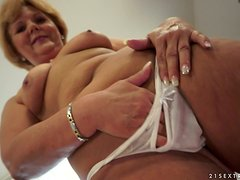 Mature Bitch Calls An Escort To Give Her Pussy Some Flesh To Fill Her!