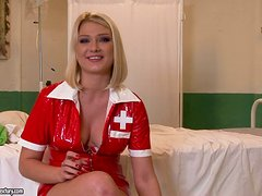 Sensual Nurse Seduces The New Doctor. This Hospital Has A High Fucking Record!