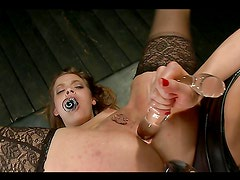 Two hot chicks get their assholes stuffed with hard cock