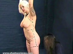 Mistress humiliates her submissive friend