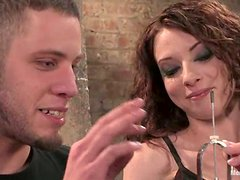 Amber Keen Having Sex with the Guy She Dominates in Bondage Video