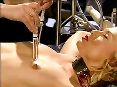 mistress toys with slaves