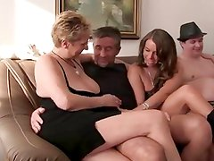 German Intimate Amateurs in Orgie