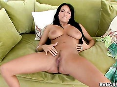 Anissa Kate with big breasts is too