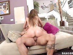 Alexa Nicole with phat bottom does her