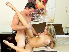 Juelz Ventura pulls out his hard cock and Ryan Driller