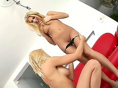 Clara G. and Vivien are smoking hot lesbians who love