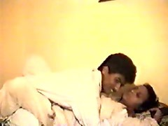Indian woman is seduced for sex on cam