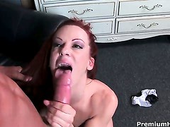 Shannon Kelly loves getting her lovely face cum drenched