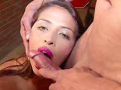 Hardcore action Staring the very sexy babe Laura Arce. this girl is so turned on she doesnt even have time to