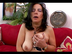 Horny Mom Gives Some Amazing Head In POV