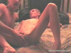 Fingering and fucking his redneck girlfriend