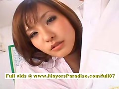 Japanese models are cock teasing nurses
