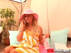 Sexy Fun in a Hot Summer Day by Kinky Blonde Chloe Chanel