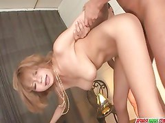 Busty Sumire Matsu Gets Creampie After Group Sex