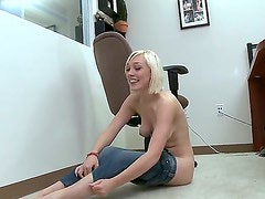 Lily Labeau with bubbly booty does dirty