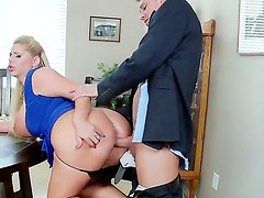Big stiff penis of Bill Bailey got shared by two sexual cougars Karen Fisher and