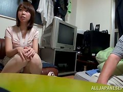 Kinky Oral and Face Sitting Action with Japanese Girl Yuki Mizuhoshi