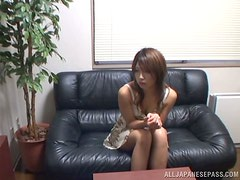 Japanese Casting Couch Sex with Gorgeous Amateur Beauty