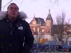 German tourist comes to Amsterdam