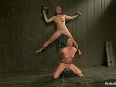 Hot Submissive Girls Ariel X and Dia Zerva Bounded