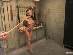 Jade Indica gets her mouth and vag drilled hard by Maestro