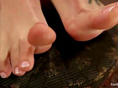 Hot Hardcore and Foot Fetish Action with Blonde Natasha Starr