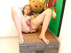 Ksenija A stayed home so she could use her toy