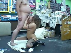Filthy brunette MILF Brandy Nicole gets nailed missionary and doggy