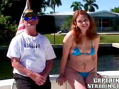 Pro Red Haired Skin Pulling Broad