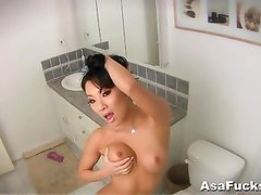 Home Video in Bathroom Play