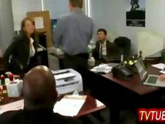 tv sex at the office