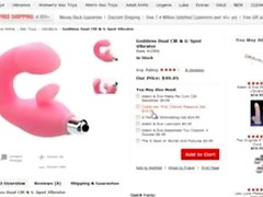Adam and Eve Coupon Code KRISTY Gets The Goddess Dual G-Spot Vibe