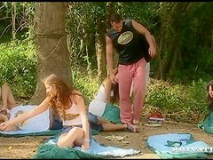 Picnic ends up with some wild orgy in the national park
