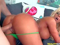 Gianna Capone is a sex hungry blond bombshell with huge