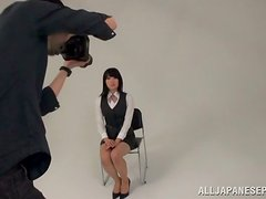 High School Yearbook Photo Shoot In Japan Ends With A Girl Fucked Hard!