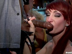 Cocks gobbled by gorgeous women
