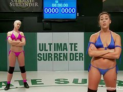 Andre Shakti and Dylan Ryan in hot Ultimate Surrender battle