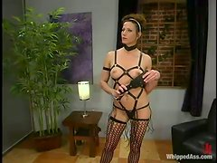 Kinky Toying Action in Lesbian Femdom Vid for Eva Lux