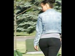 MixedLatina Ass In Spandex (Sexy Yo)