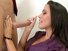Rachel Starr Gets On Her Knees A...