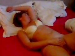 Home orgasm of Els 43 years dutch mom