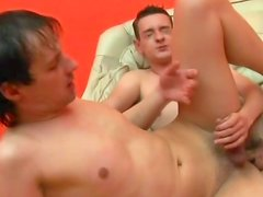 Two cute gays are having nasty anal sex