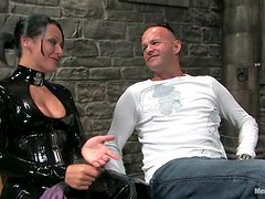 69 Action after Ass Toying and Pegging in Femdom BDSM with Sandra Romain