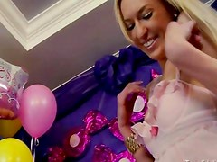 Birthday Teen Princess Covered In Icing