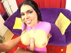 Gorgeous whore Olivia Olovely does her best in doggy style